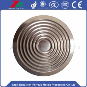 Special tungsten diaphragm for instrument and meter