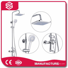 wall-mounted exposed shower set fashion rainfall shower set