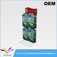 supermarket counter metal pipette display hanging stand