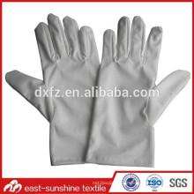 Luvas de nylon para limpeza, luva de limpeza de microfibra, luva de pó de microfibra