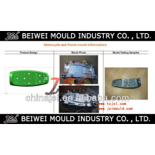China Mainland High Quality Plastic Motorcycle Seat Mould Maker