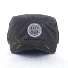 Canvas Army Caps avec patch en broderie