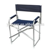 Cadeira de diretor, cadeira de diretor de alumínio dobrável de lona