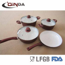 bulk buy from china forged cooking pan cookware set