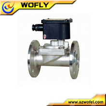 Stainless steel air compressor solenoid valve timer