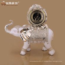 horloge créative créative de haute qualité pour éléphant au prix de gros