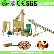Ligne de production de pastilles de sciure de sciure de sciure de combustible à biomasse