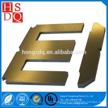 Núcleo do transformador da laminação do aço EI do silicone da carga