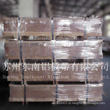 Placa / chapa de alumínio 6063 t6 para aeronaves fabricadas na China