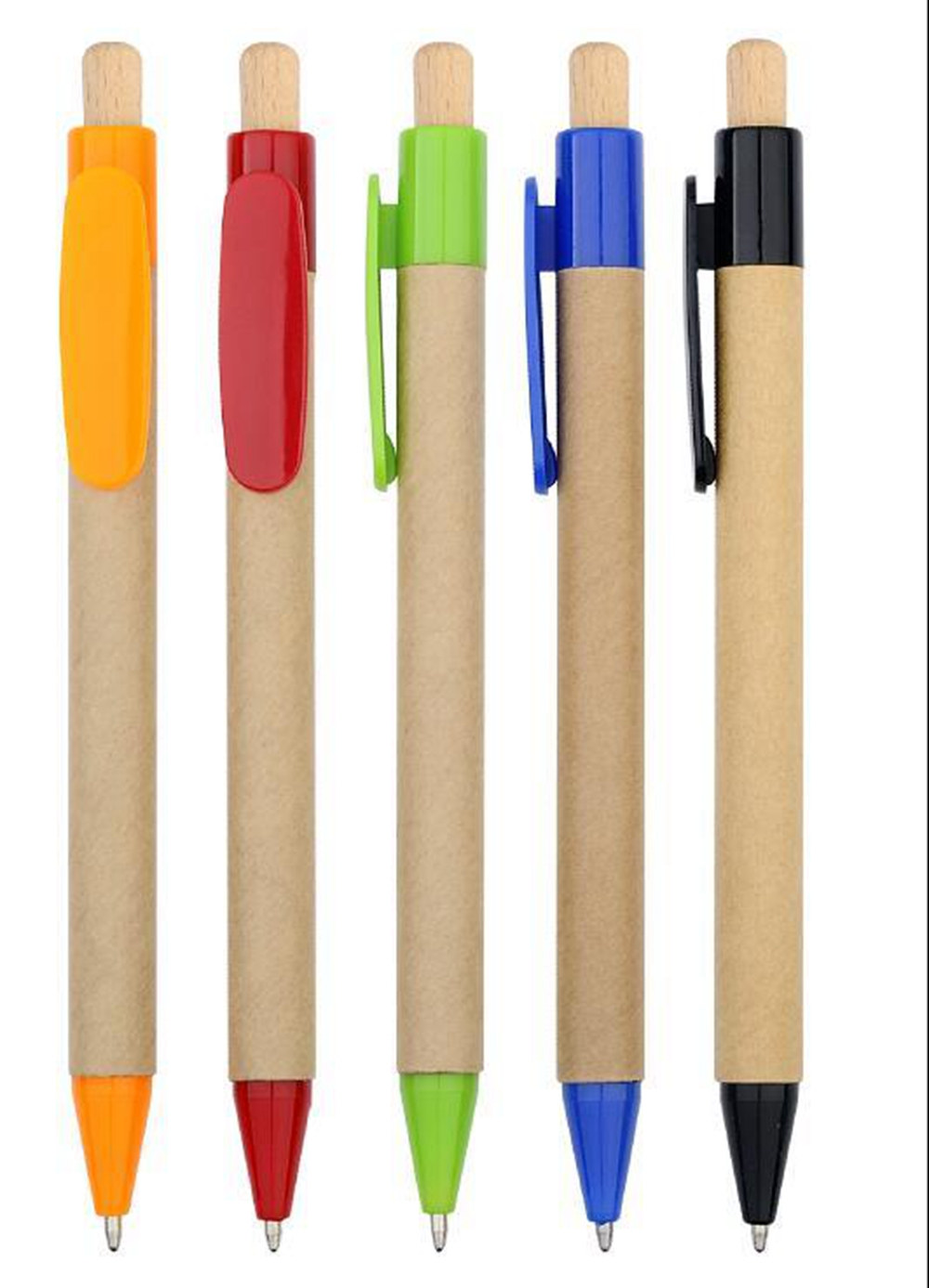 Customized Recycle Paper Ballpoint Pens