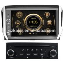 Touchscreen winke Auto GPS für Peugeot 208 mit GPS / 3G / DVD / Bluetooth / IPOD / RMVB / RDS
