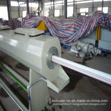 Ligne professionnelle d'extrusion de tuyau d'approvisionnement en eau de PE