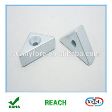 countersunk triangle neodymium magnet n52