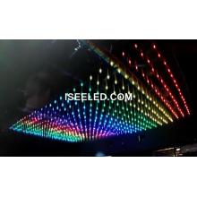 Lumières de la scène du tube LED DMX512 Cube RGB