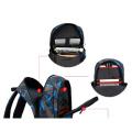 Mode Personnaliser le sac à dos d'école d'ordinateur portable étudiant