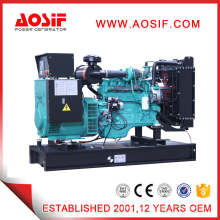 50Hz Brushless Automatic Generator 125kVA Generator Set