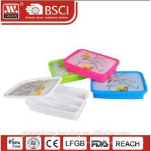 Caixa de talheres de plástico