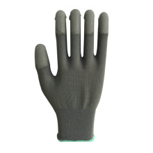 Carbon Fiber Safety Glove with Gray PU Coating