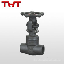 dn100 forged pn16 welded stem hawle gate valve