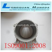 Impulsor de la bomba piezas de fundición de mecanizado CNC, China aluminio bombas imeller piezas fundidas