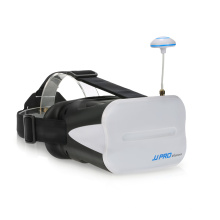 JJPRO F01 64CH 5.8G Full Band 640X480 WVGA 5 Inch FPV Goggles VR Headset with Battery For JJRC H6D H8D H11D JJPRO P175 P200