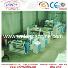 Automatic 1-3layers CPP Plastic Casting Stretch Film Sheet Extrusion Machine From 15 Years Factory