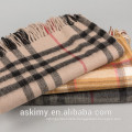 2015 high quality Pure Mongolian Scottish 100% Cashmere Scarf