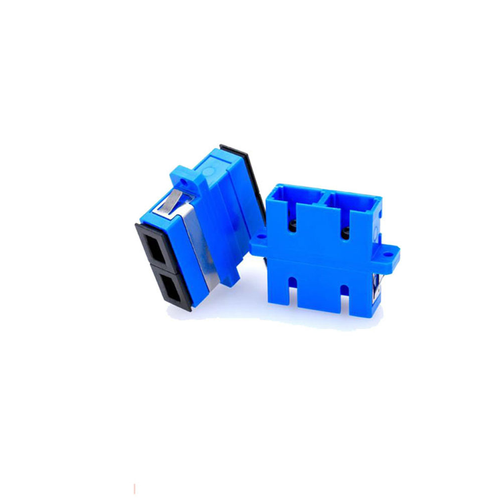 Duplex Fiber Optic Adapter