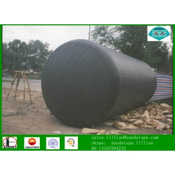 Bitumen adhesive tape for joint wrapping