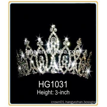 girls rhinestone tiaras king crown decorations royal wedding tiara wedding cheap rhinestone pageant crown