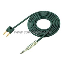 DT Speaker Cable 2X1.5mm² Banana Plug to Mono Jack