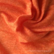 Tissu en lin tricoté Tencel (QF15-2204)