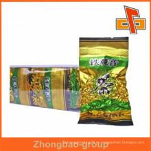 Manfacturer opaco vacío vacío sello té bolsas de embalaje