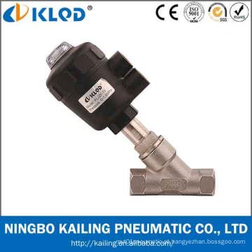 Válvula de assento angular pneumática para Kljzf-15