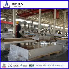 Precio de fábrica de la lámina de aluminio recubierta PE 3003