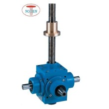15KN Motorized Bevel Gear Machine Screw Jacks