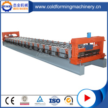 New Style Colored Steel Zhiye Roofing Roll Forming Machine