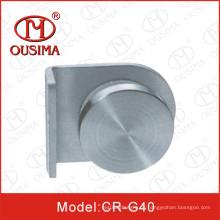 Edelstahl-Glas-Clip mit Knopf verwendet in Fixing Glass (CR-G38)