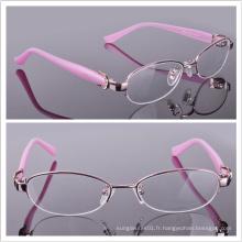 Cadre d'acétate de femme / Cadre de lunettes de nouvelle arrivée / Verre à oeil de menthe complète (2507)