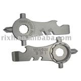 mini titanium multi tool,multifunctional Titanium Bicycle tool