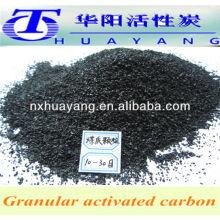 Carvão ativado granular de 4x8 mesh
