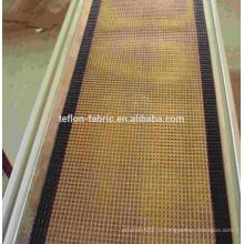 Китай Top 3 производителя PTFE покрытием из стекловолокна сетки Микроволновая сушилка пояса