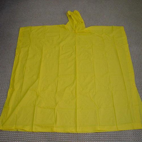 Customed su geçirmez PVC yağmur panço