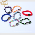 2018 new fashion stainless steel bracelet handmade logo printed braclet