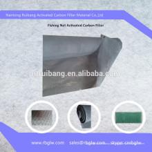 Aire acondicionado activado malla de malla de filtro de esponja de carbón de pesca