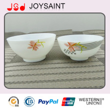 Catering All Kinds Restaurant Hotel Use Stackable Oval Glass Soup Bowl