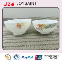 Catering Todos os Tipos Restaurante Uso do Hotel Empilhável Oval Glass Soup Bowl