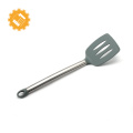 Silicone cooking utensil set Small size Overall coating silicone spatula with metal inside