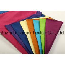 Peau de pêche de microfibre de polyester avec balayé pour le tissu de veste