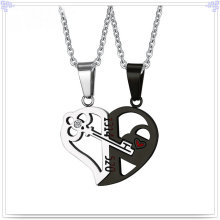 Jóias de moda de aço inoxidável jóias colar de pingente (nk223)